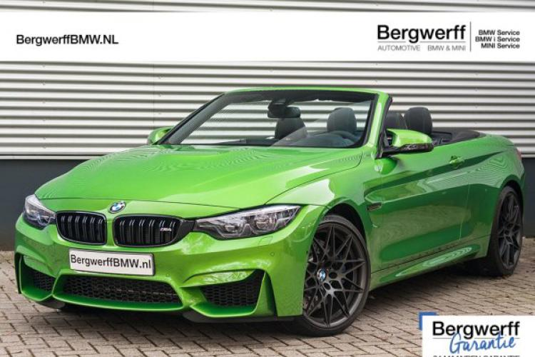 BMW 4 Serie Cabrio M4 Competition ''Java Green'' Individual